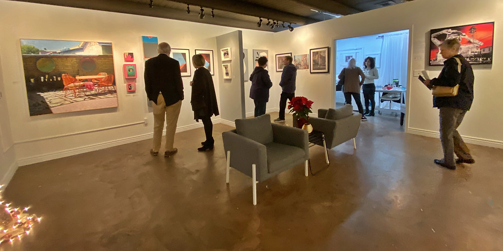 """Closing Reception for """"Painting Versus Photography"""""""