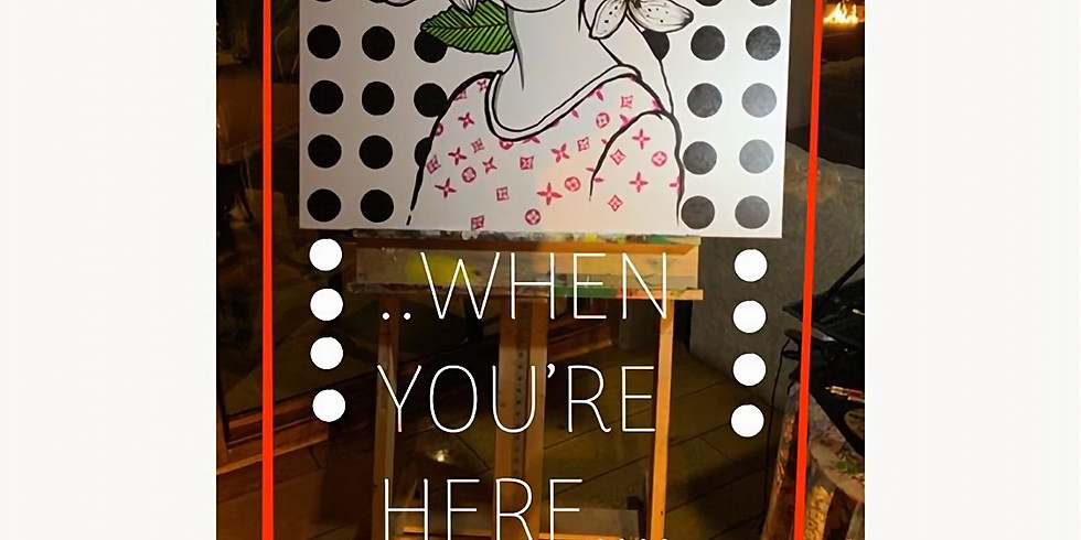"""Opening Artist Reception for Gennaro Garcia's Solo Exhibition """"When You're Here"""""""