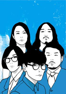 SENKYOKUKA @ Glocal企画 サカナクションデーでのイラスト。 一日中サカナクションで盛り上がった一日。 選曲は名古屋のFemale DjのYuu