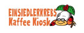 友人が新しく始める異動型コーヒーの提供のイメージキャラ制作 EINSIEDLERKREBS Kaffee Kiosk  Einsiedlerkrebs (アインジードラークレープスと読む)は、ドイツ語でヤドカリのこと。 店舗を持たないヤドカリバリスタということ、そしてEinsiedlerは『世捨て人』という意味もあり、世間のレールからはみ出した自身に重ね、屋号にしました。