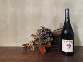 Patapon Rouge 2019 赤ワイン  🍇 Pineau d'Aunis (ピノ・ドニス) 🇫🇷  自然派ワイン王道のパタポン。フランボワーズのような酸味が印象的。だし汁感は相変わらず。少し値上がりした感ありますが、まだまだおすすめです!# patapon   2021/5/26
