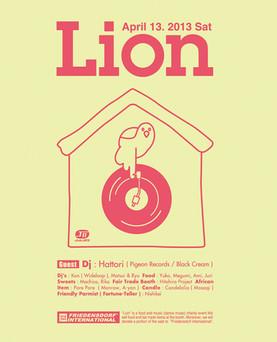 Lion @ Club JB'S  Clubでチャリティーイベント。LionのVol.11