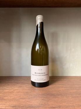 Bourgogne Chaumes des Perrières  2018  レイモン・デュポン・ファンのシャルドネ。 ずっしり目のブルゴーニュ産。レモンや酸のあるグレープフルーツ系。 もう少し寝かせると面白いかもと思えますが、全然今でもOK当店の「クルミとオレンジのグリーンサラダ」と相性が良いはず。  2017/1/17
