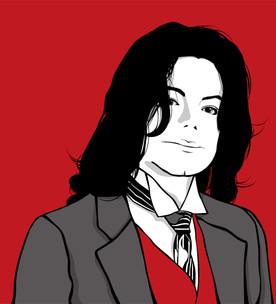 Michael Jackson 10回忌イベント時使用イラスト 選曲はDj Wasada