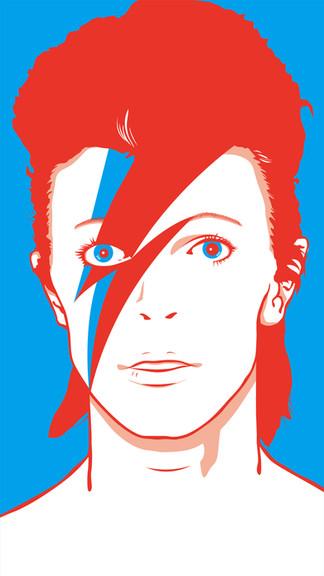 SENKYOKUKA @ Club JBS David Bowieイラスト