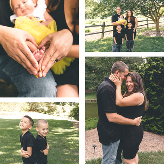 Martinez Family Session | Norfolk Botanical Gardens | CHP Families