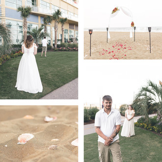 Nick & Kristin | Intimate Oceanfront Wedding | CHP Couples