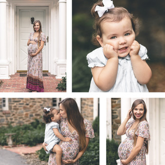 Hansen Maternity Session | Baltimore, MD | CHP Families