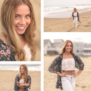 Portrait & Fitness Beach Session | Sandbridge, VA | CHP Portraits