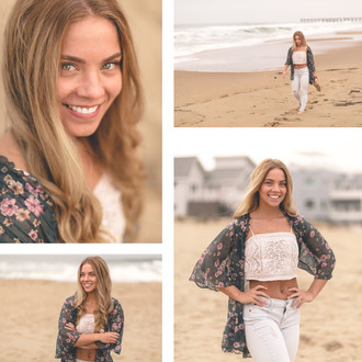 Portrait & Fitness Beach Session | Sandbridge, VA | CHP Portraits