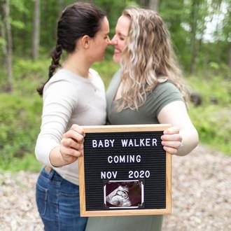 Maddy & Melissa Pregnancy Announcement | Virginia Beach, VA | CHP Families