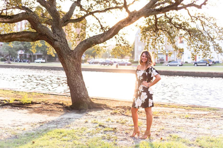 Mississippi Gulf Coast Senior Photograph