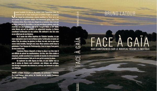 Facing Gaia's book cover