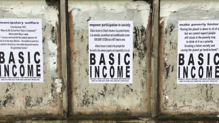 No Strings Attached: Universal Basic Income as the New(er) Deal for society