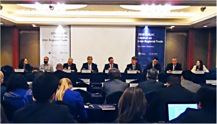 Policy Shift attends FEALAC's Seminar on Inter Regional Trade