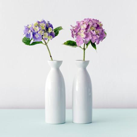 I heart hydrangea.                                        My secrets to making them last.