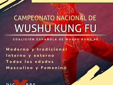 SE POSPONE EL NACIONAL DE WUSHU KUNG FU 2020