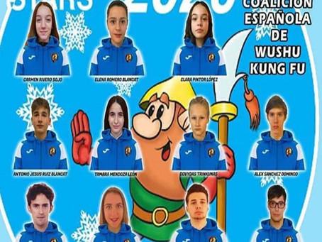 El equipo de Wushu Kung Fu de CEWK ya está en el Moscow Wushu Stars 2020