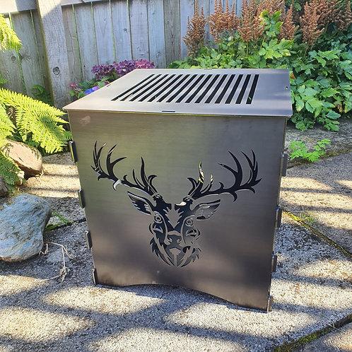 WildFire Logburner (mild steel) - Stag