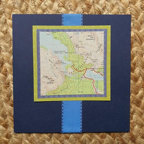 Stirling - The Trossachs, Ben Venue + Loch Achray