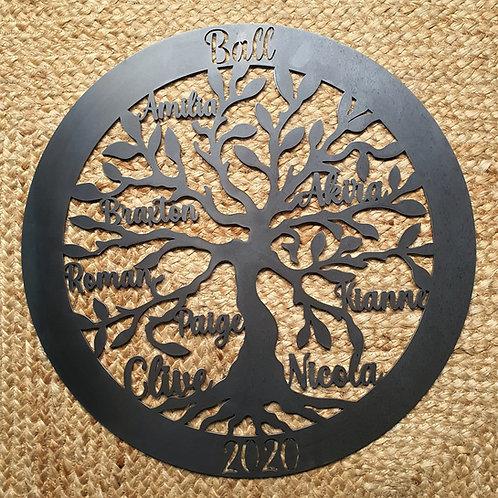 """""""Family Tree"""" - Customised Tree of Life"""