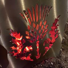 WildFire Garden Logburner - Thistle