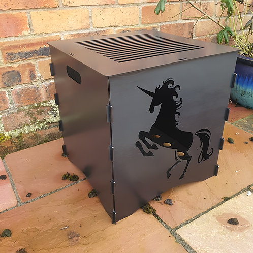 WildFire Logburner (mild steel) - Unicorn