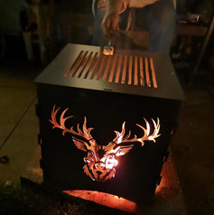 WildFire Garden Logburner - Stag