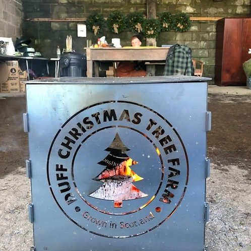 Customised Log Burning Firepit