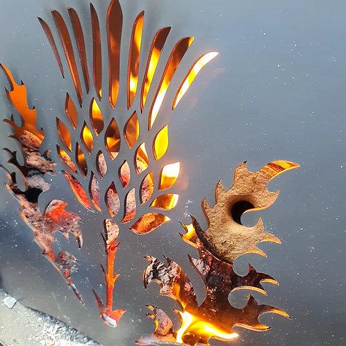 WildFire Logburner (mild steel) - Thistle
