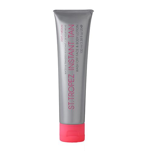 St Tropez Instant Tan Face & Body Lotion – Light/Medium 100ml