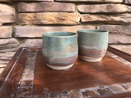 Set of 2-8 oz Tumblers