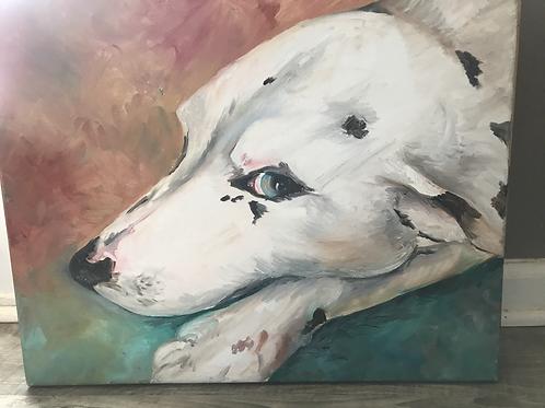 Acrylic Pet Portrait 8x10