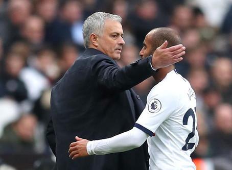 Lucas Moura exalta gol e começo com José Mourinho no Tottenham