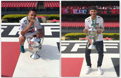 Antony e Fabinho: campeões da Copa do Brasil sub-20