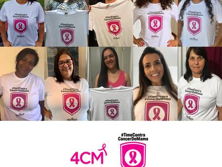 Outubro Rosa: jogadores participam de campanha nas redes sociais