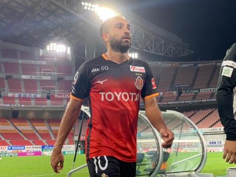 'Mago de Nagoya', Gabriel Xavier celebra primeiro gol após retorno da J League no Japão