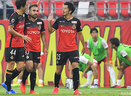 Com gol e assistência, Gabriel Xavier comanda virada do Nagoya pela J League