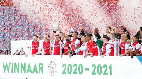 Eleito melhor da final, Antony celebra primeiro título pelo Ajax