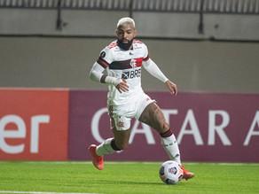 Na mesma noite, Gabigol ultrapassa Zico e Pelé na Libertadores