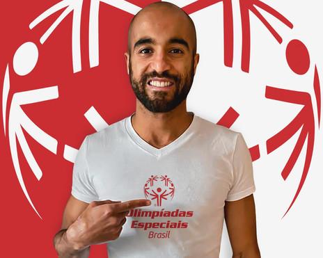 Nos 10 anos de carreira, Lucas Moura é nomeado embaixador das Olimpíadas Especiais Brasil
