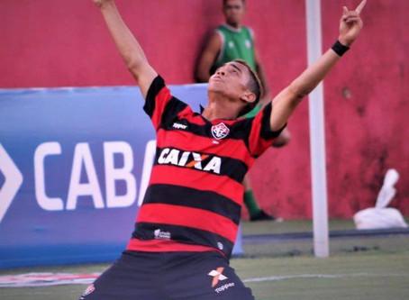 Destaque do Vitória, Caíque busca o tri da Copa do Nordeste sub-20