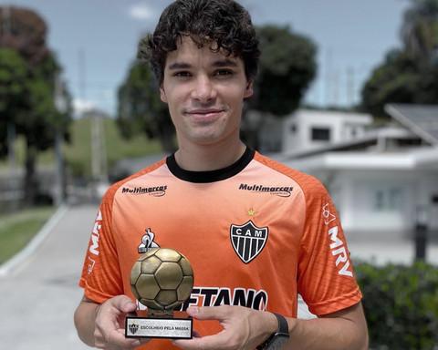 Eleito melhor em campo, Dodô celebra momento e fase invicta com a camisa do Atlético-MG