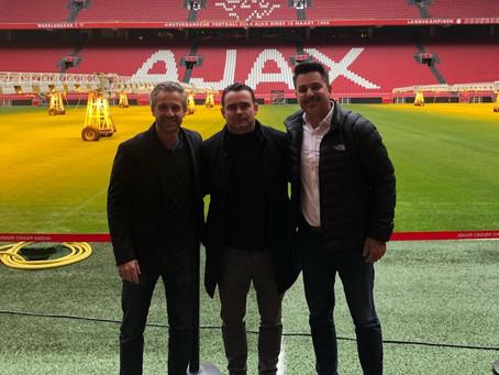 Revelação do futebol brasileiro, Antony acerta com o Ajax-HOL