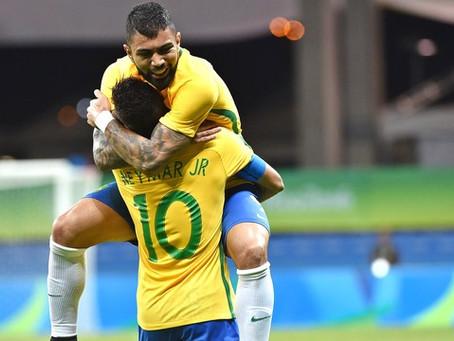 Olimpíadas: Gabigol marcou dois gols e garantiu o Brasil em 'jogo chave'
