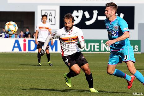 Ídolo da torcida, Gabriel Xavier completa 50 jogos pelo Nagoya