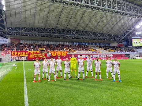 Gabriel Xavier celebra fase do Nagoya, único 100% na J-League
