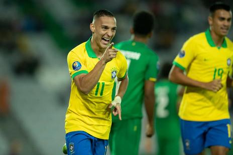Joia do futebol brasileiro, Antony celebra vaga nas Olimpíadas do Japão