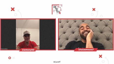 Na Resenha 4ComM, Antony e Lucas falam da vida na Europa e relembram começo no São Paulo