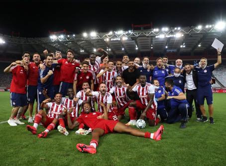 Com campanha impecável, Guilherme Torres celebra título do Campeonato Grego pelo Olympiacos